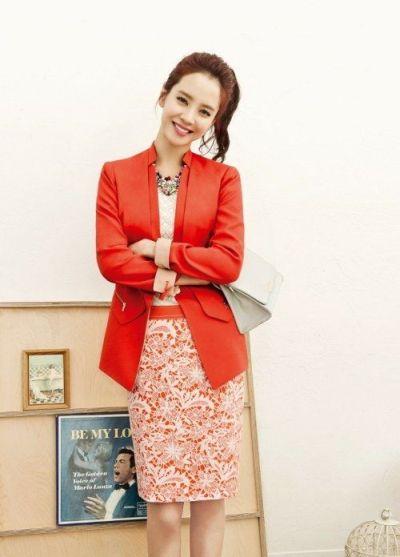 Foto aktris Korea Song Ji-hyo 19