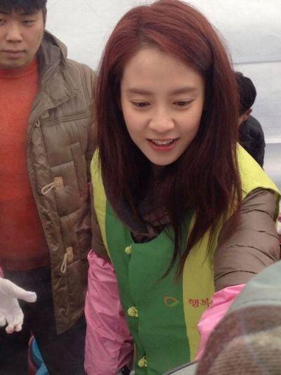 Foto aktris Korea Song Ji-hyo 36