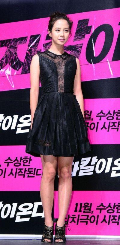 Foto aktris Korea Song Ji-hyo 37