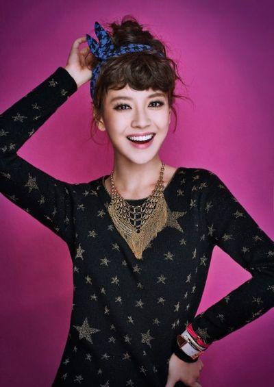 Foto aktris Korea Song Ji-hyo 45