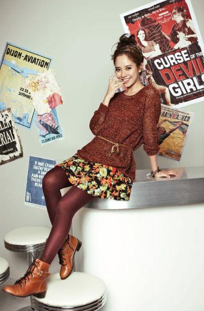 Foto aktris Korea Song Ji-hyo 8