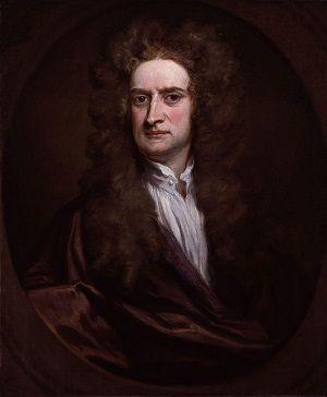 Foto Ilmuwan Isaac Newton