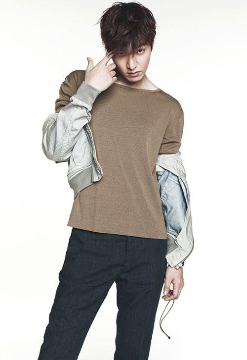 Foto Lee Min Ho dalam berbagai gaya 40