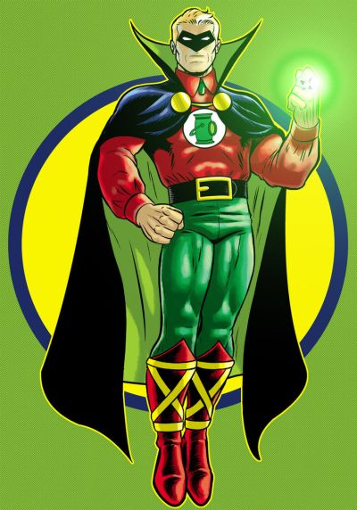 Foto superhero Alan Scott