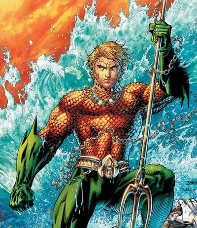 Foto superhero Aquaman