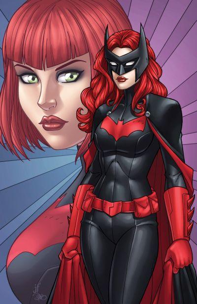Foto superhero Batwoman