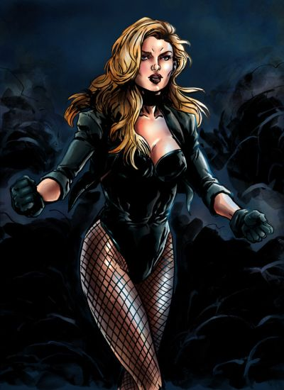 Foto superhero Black Canary