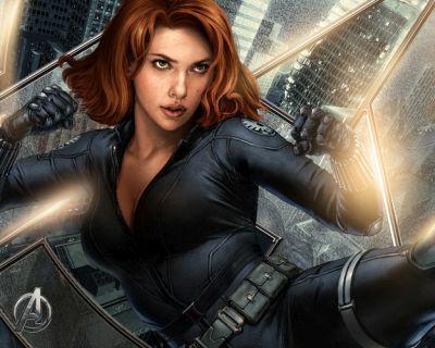 Foto superhero Black Widow