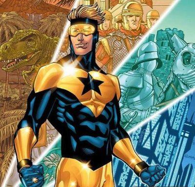 Foto superhero Booster Gold