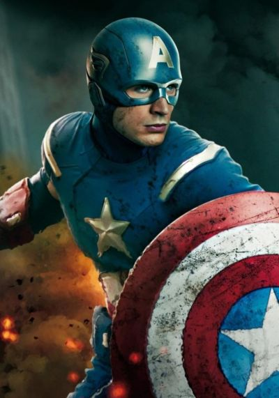 Foto superhero Captain America