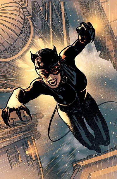 Foto superhero Catwoman
