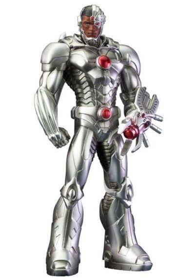 Foto superhero Cyborg
