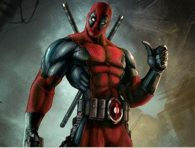 Foto superhero Deadpool