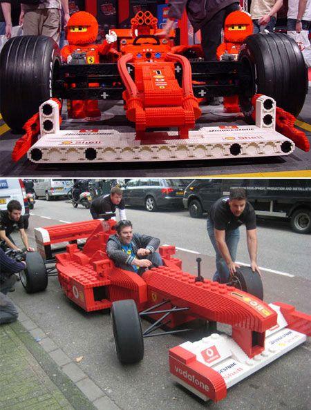 Mobil F1 dari LEGO