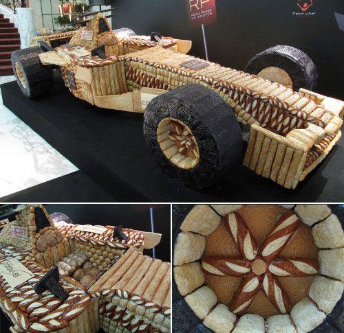 Mobil F1 dari roti