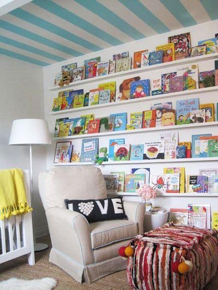 Perpustakaan kecil di sudut rumah 11