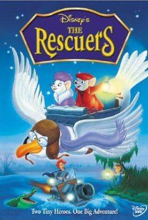 Poster film The Rescuers