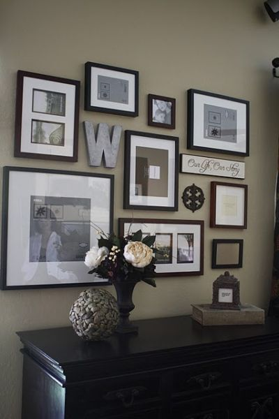 30 Contoh Desain Dinding untuk Galeri Foto dan Lukisan ...