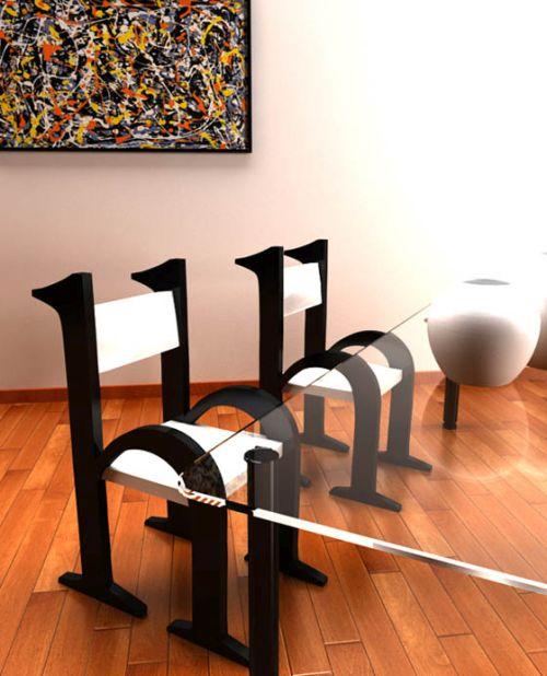 Desain perabotan alfabet 3