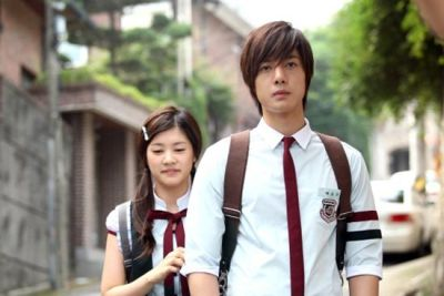 Foto adegan drama Playful Kiss 1