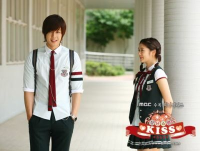 Foto adegan drama Playful Kiss 4