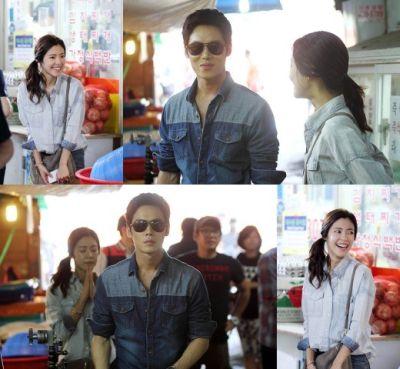 Foto adegan drama Wang's Family 1