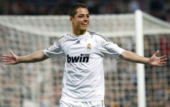 Foto Chicharito di Madrid