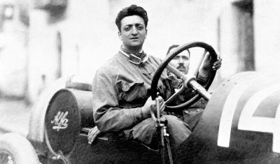 Foto Enzo Ferrari