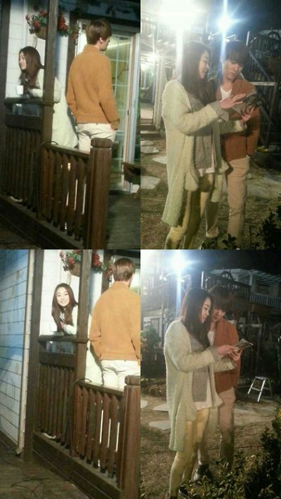 Foto-foto syuting drama Emergency Couple 11
