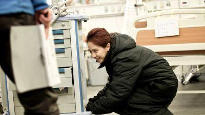 Foto-foto syuting drama Emergency Couple 13
