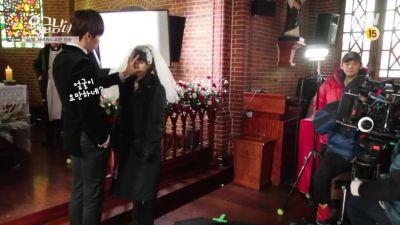 Foto-foto syuting drama Emergency Couple 15