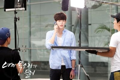 Foto syuting drama I Can Hear Your Voice 10
