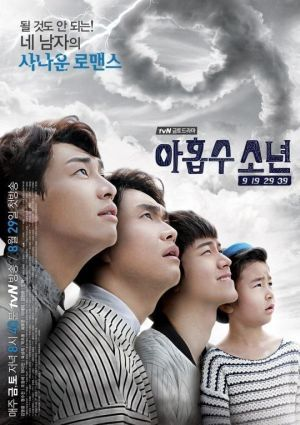 Poster drama Plus Nine Boys