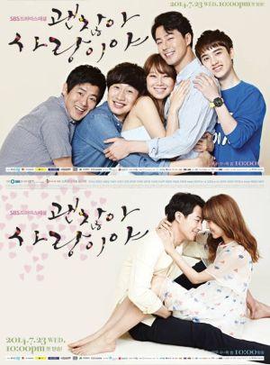 Poster It's Okay, It's Love