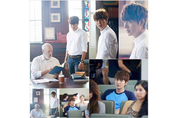 Adegan Lee Min-ho sebagai Kim Tan