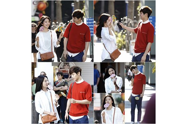 Adegan Park Shin-hye dan Kang Min-hyuk