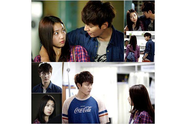 Adegan pertama Lee Min-ho dan Park Shin-hye dalam The Heirs