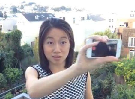 Cara Donat Selfie