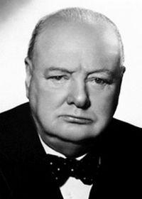Foto Sir Winston Churchill