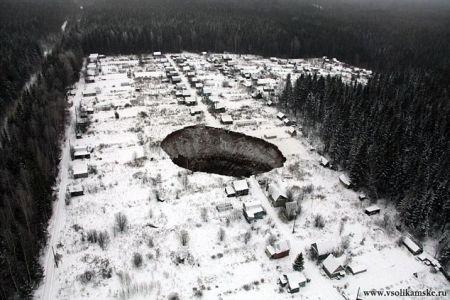 Lubang raksasa Siberia