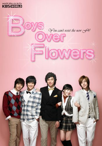 Poster drama Boys Before Flowers