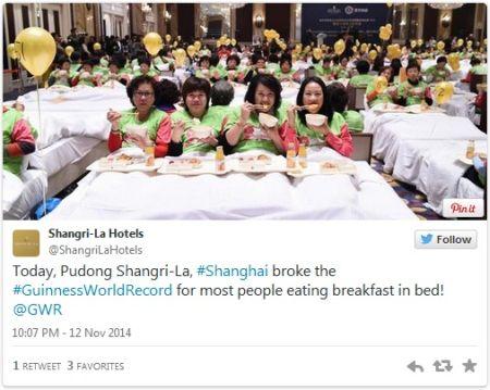 Rekor makan di ranjang