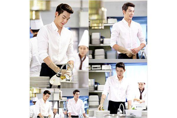 Syuting hari pertama Kim Woo-bin dalam The Heirs
