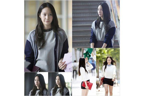 Syuting hari pertama Krystal Jung dalam The Heirs