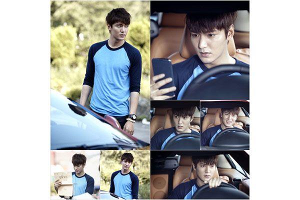 Syuting hari pertama Lee Min-ho dalam The Heirs