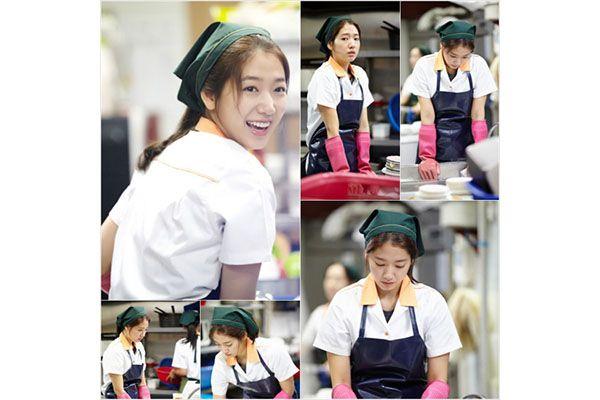 Syuting hari pertama Park Shin-hye dalam The Heirs