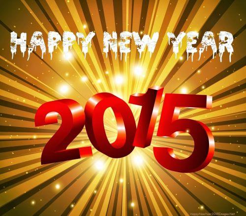 DP dan Gambar Ucapan Tahun Baru 2015 17