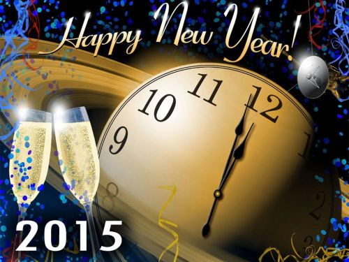 DP dan Gambar Ucapan Tahun Baru 2015 25