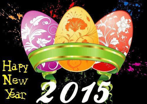 DP dan Gambar Ucapan Tahun Baru 2015 3
