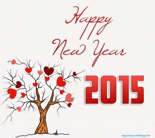 DP dan Gambar Ucapan Tahun Baru 2015 8